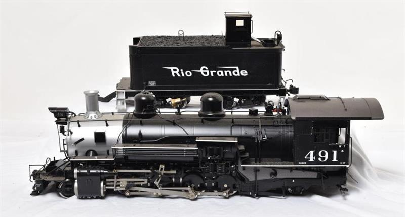 K-37 D&RGW #491 Electric Flying Rio Grande Lightly Used